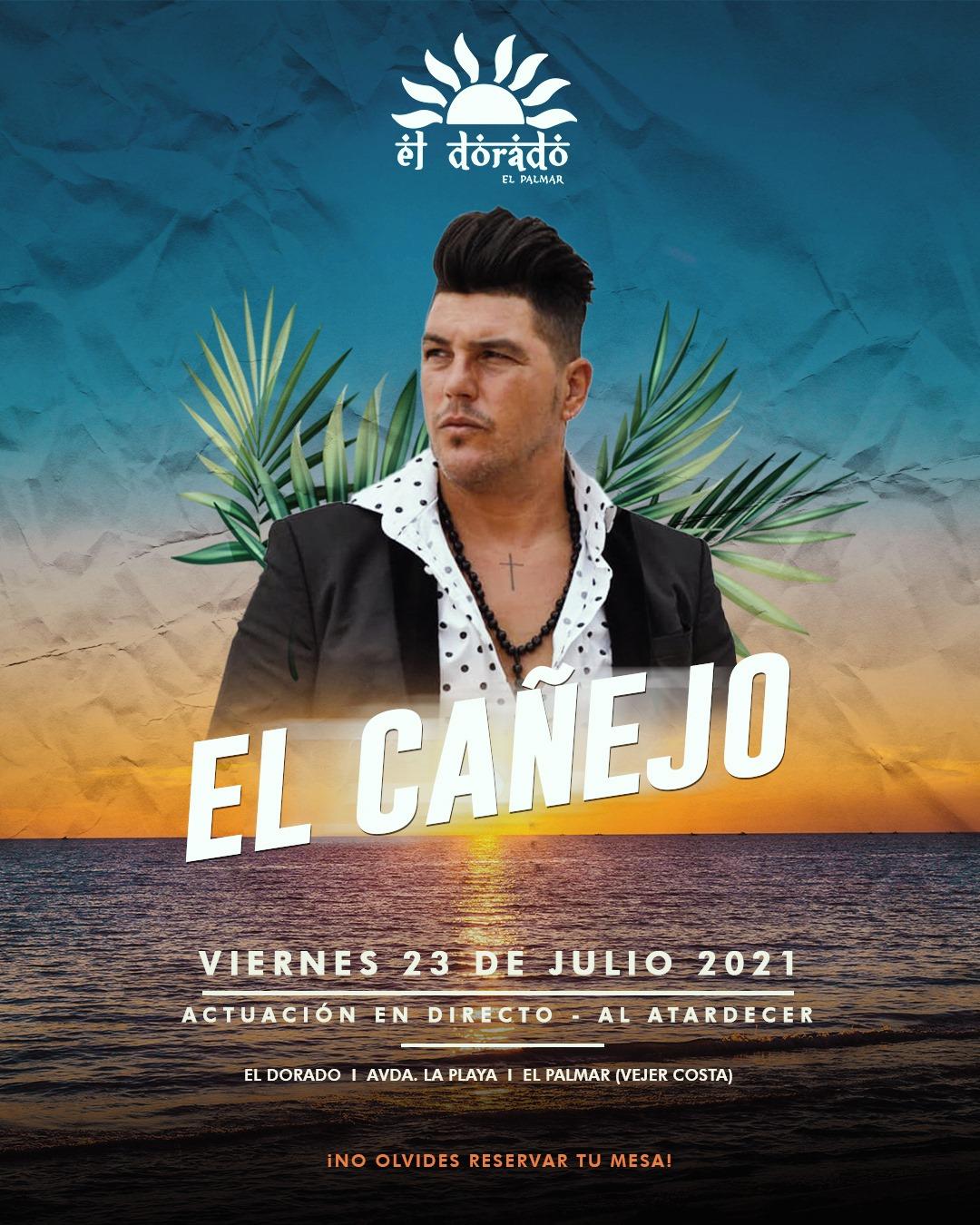 Actuación de El Cañejo en El Dorado El Palmar