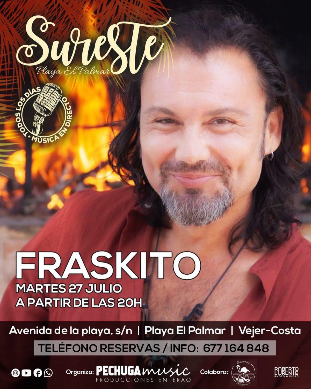 Actuación de Fraskito en Sureste El Palmar