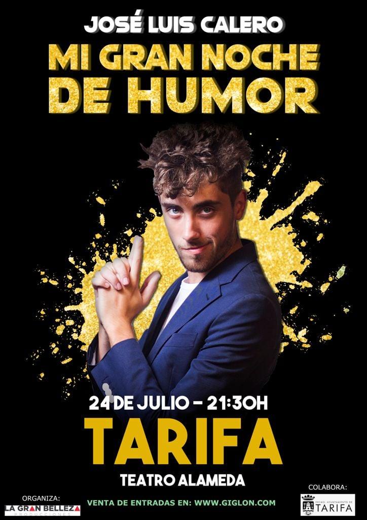 Actuación de José Luis Calero 'Mi gran noche de humor' en el Teatro Alameda