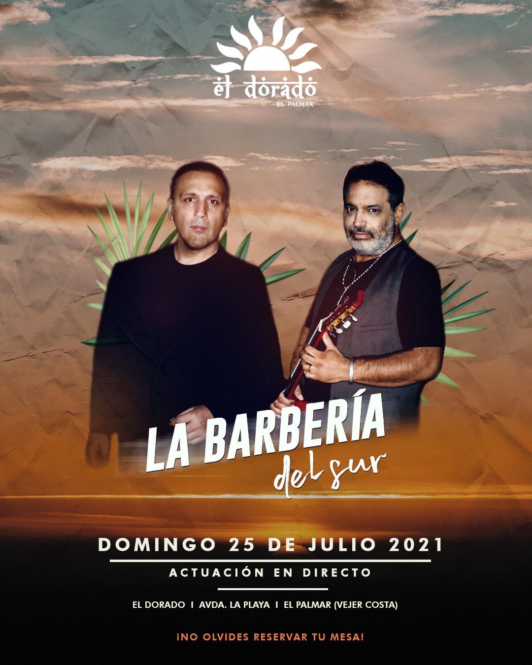 Actuación de La Barbería del Sur en El Dorado El Palmar