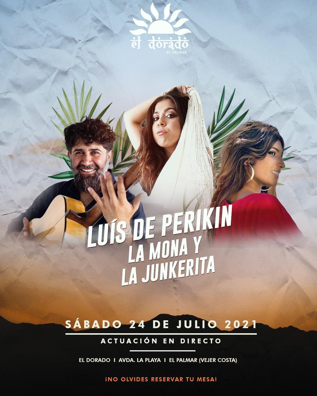 Actuación de Luís de Perikin, La Mona y la Junkerita en El Dorado El Palmar