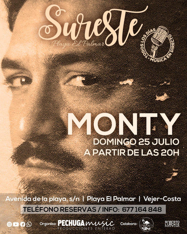 Actuación de Monty en Sureste El Palmar