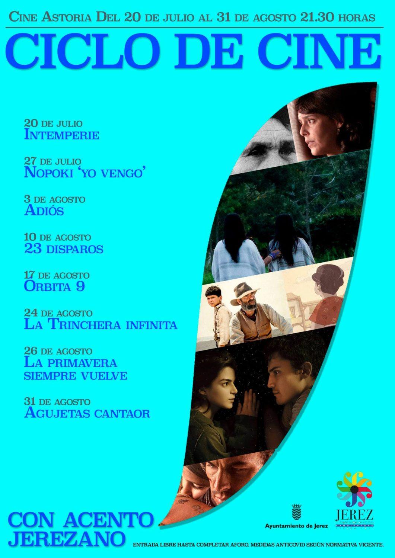 Ciclo de Cine ' Con acento Jerezano' en el Cine Astoria