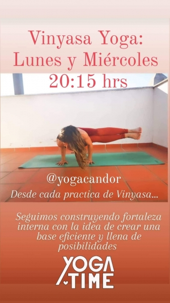 Clases de Vinyasa Yoga en Yoga Candor