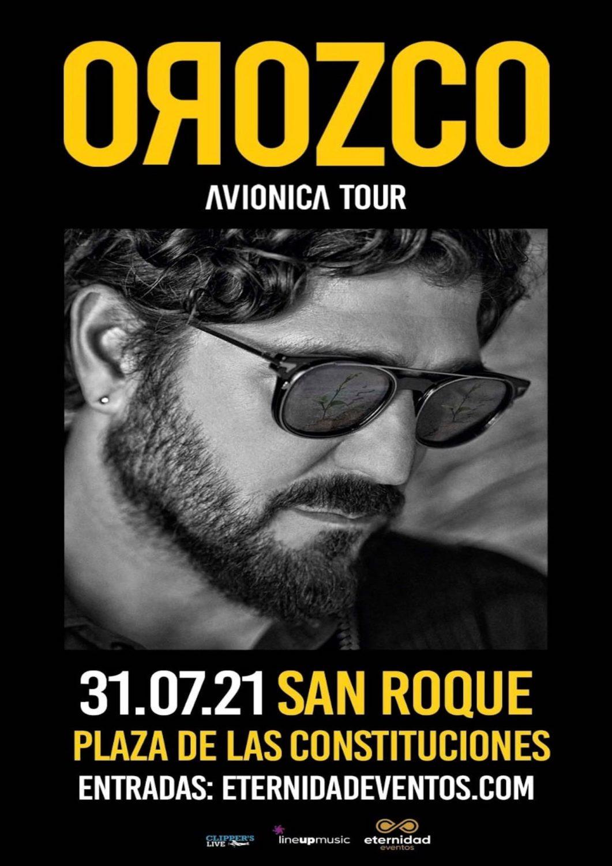 Concierto de Antonio Orozco 'Aviónica Tour' en San Roque
