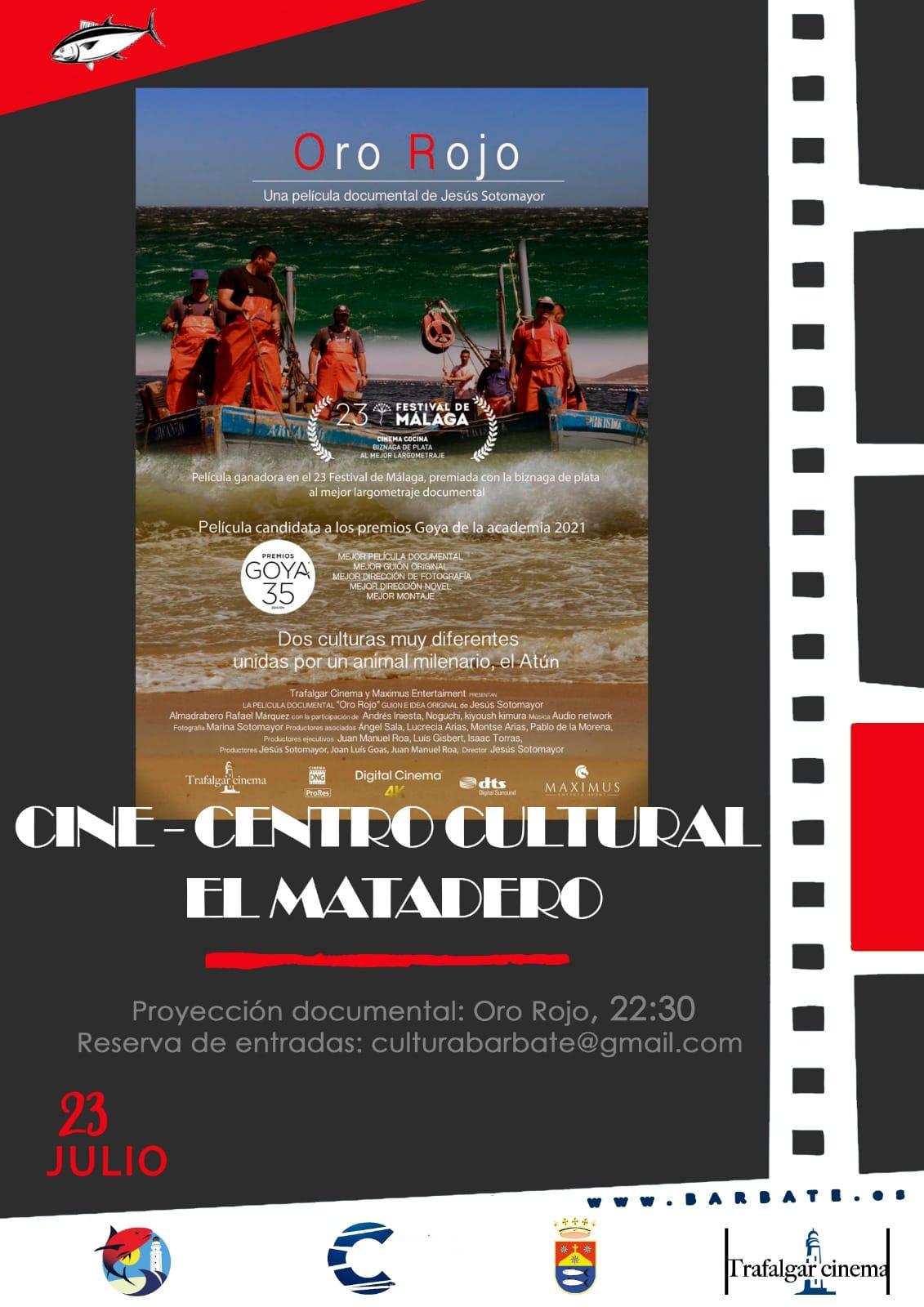 Documental 'Oro Rojo' de Jesús Sotomayor en el Centro Cultural el Matadero