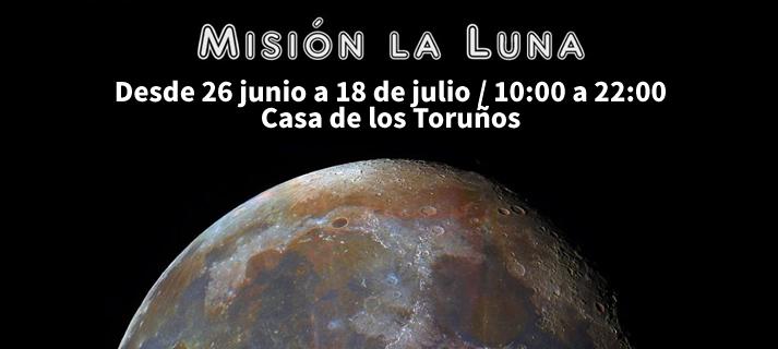Exposición 'Misión a la Luna' en La Casa de los Toruños
