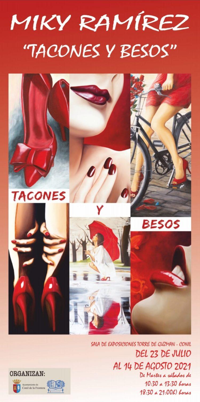 Exposición 'Tacones y besos' de Miki Ramirez en la Sala Torre de Guzmán