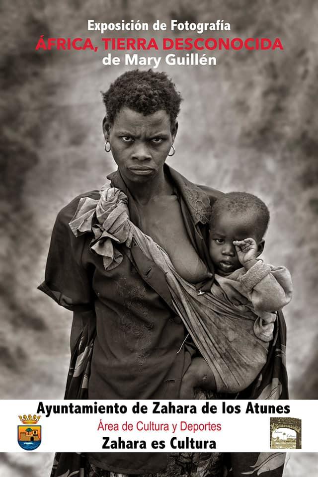 Exposición fotográfica de Mary Guillén 'África, Tierra Desconocida' en el Ayuntamiento de Zahara