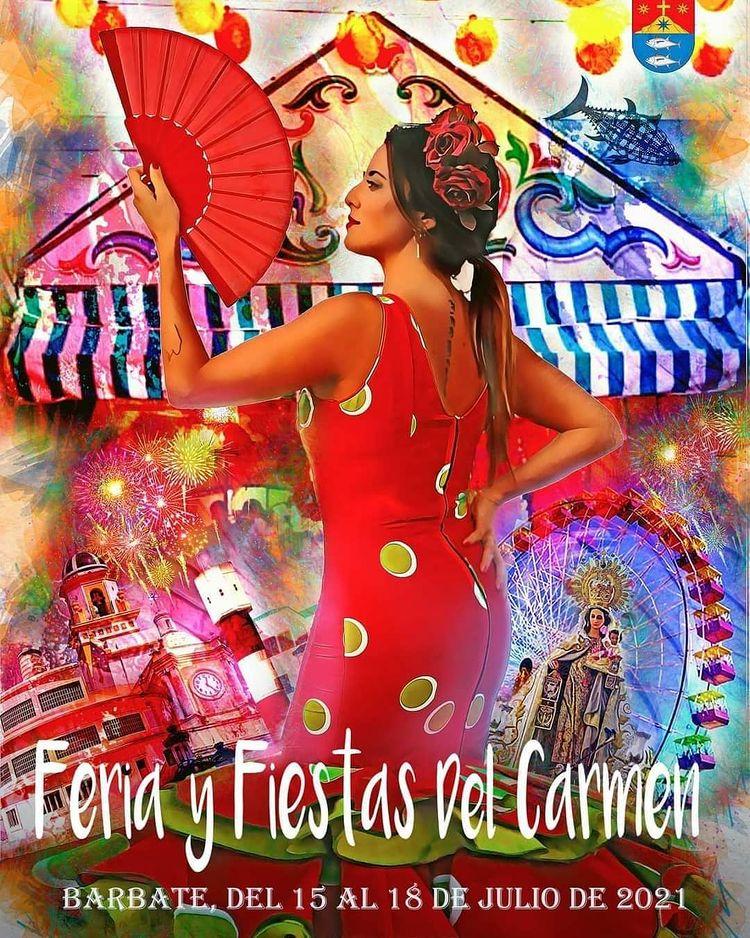 Feria y Fiestas del Carmen en Barbate 2021