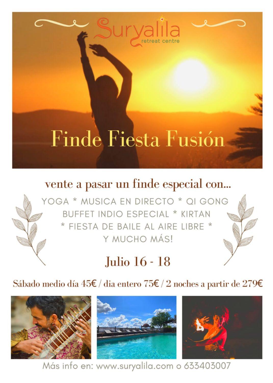 Finde Fiesta Fusión en Suryalila Retreat