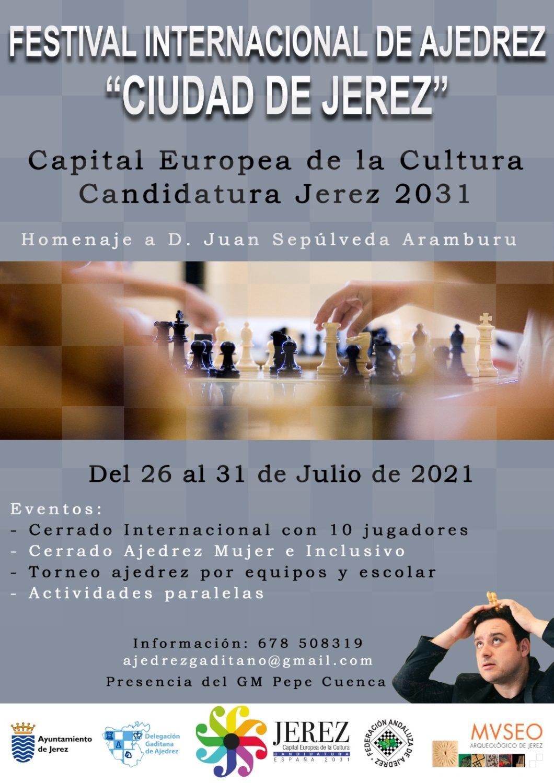 I Festival Internacional de Ajedrez 'Ciudad de Jerez' en el Museo Arqueológico