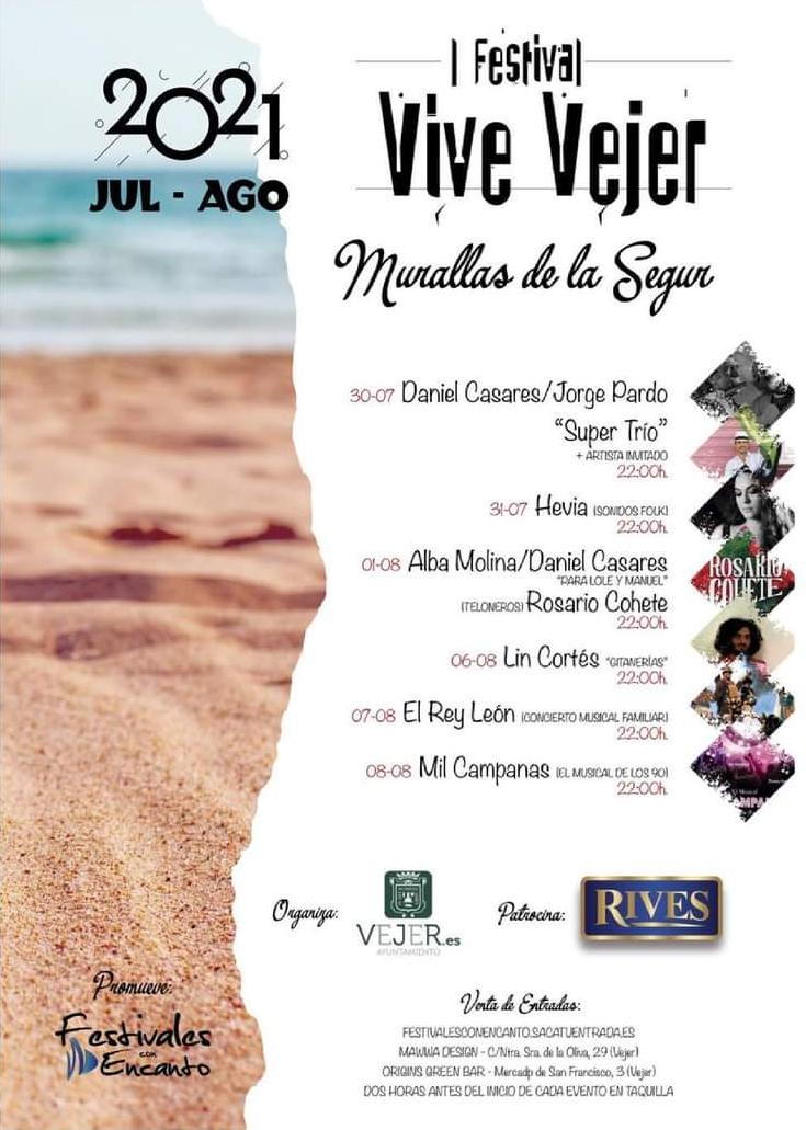 I Festival Vive Vejer 2021 en Murallas de la Segur