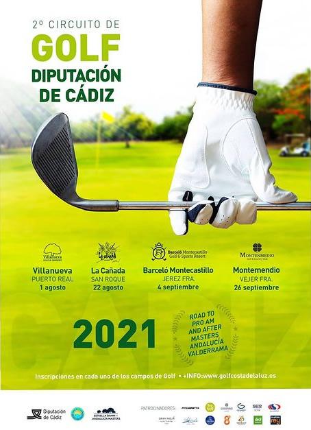 II Circuito de Golf Diputación de Cádiz en Villanueva