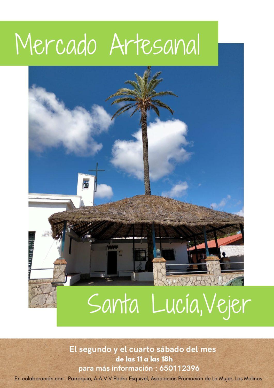 Mercado Artesanal en Santa Lucia, Vejer