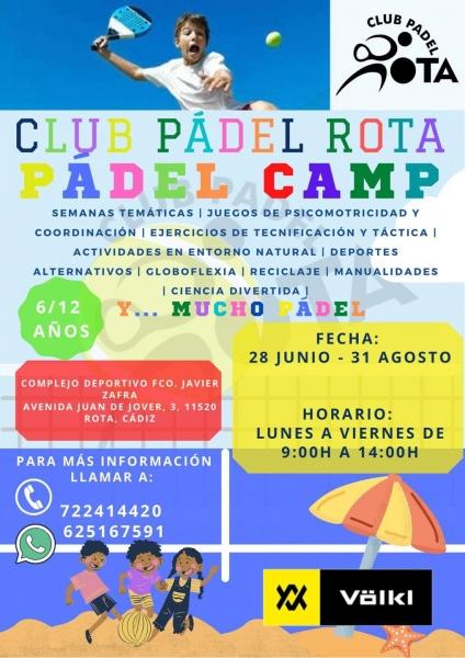 Padel Camp en el Club de Padel de Rota