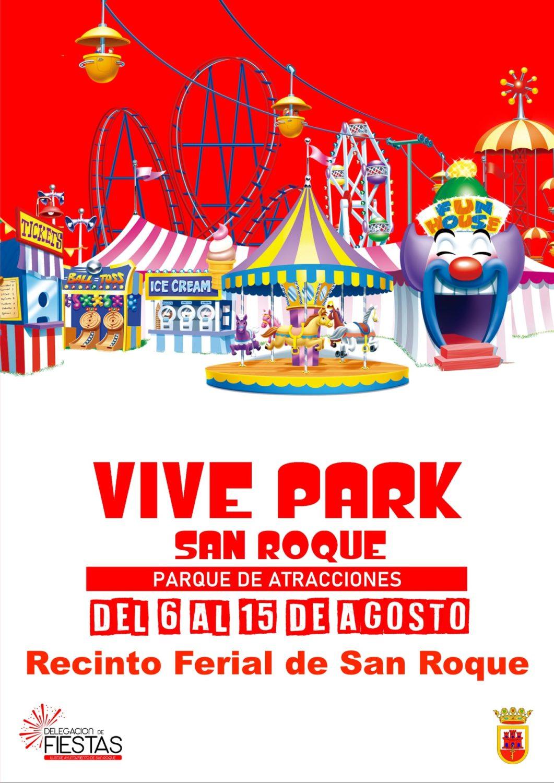 Parque de Atracciones Vive Park en el recinto ferial de San Roque