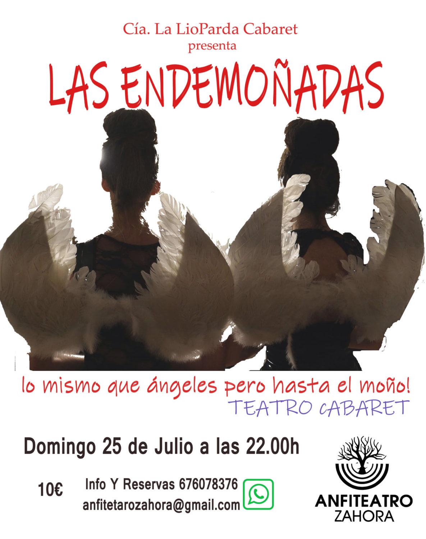 Teatro Cabaret 'Las Endemoñadas' en el Anfiteatro de Zahora