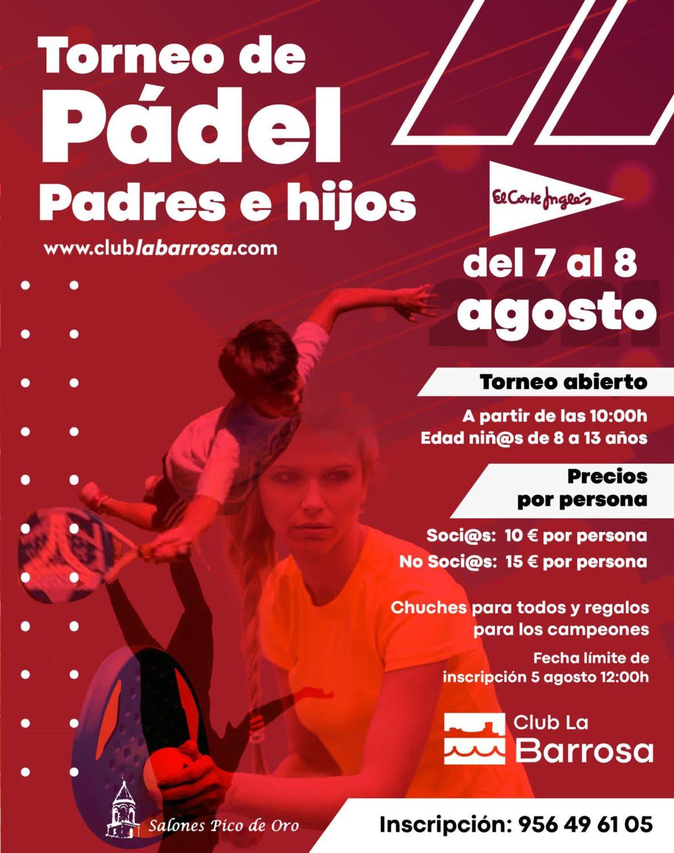 Torneo de Padres e Hijos en el Club La Barrosa