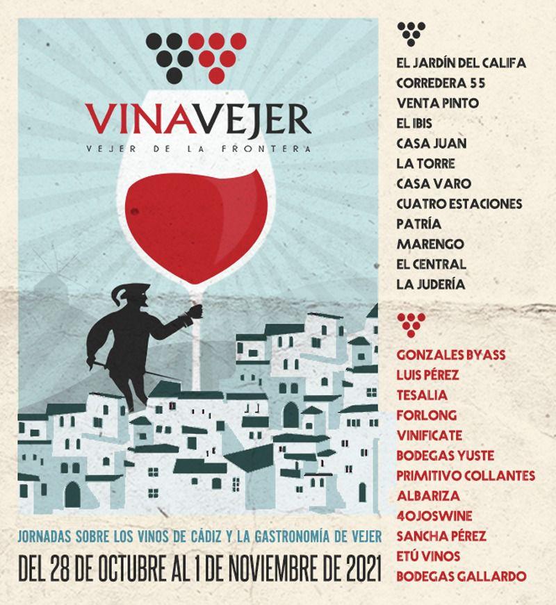 VinaVejer 2021 - Jornadas de los Vinos de Cádiz y Gastronomía de Vejer