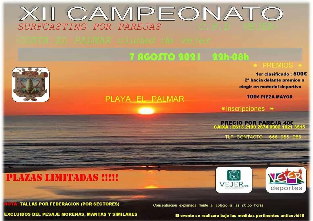 XII Campeonato de Pesca por Parejas en El Palmar