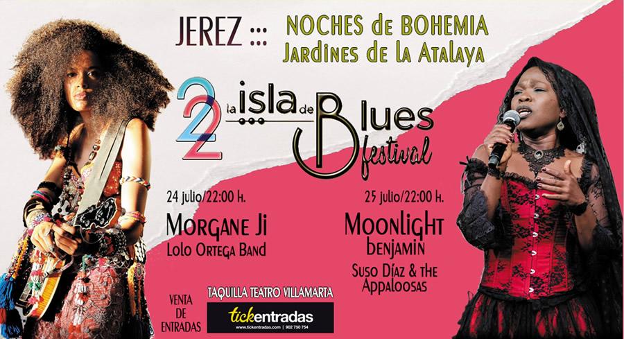 XII Festival La Isla del Blues en Jardines de la Atalaya, Jerez