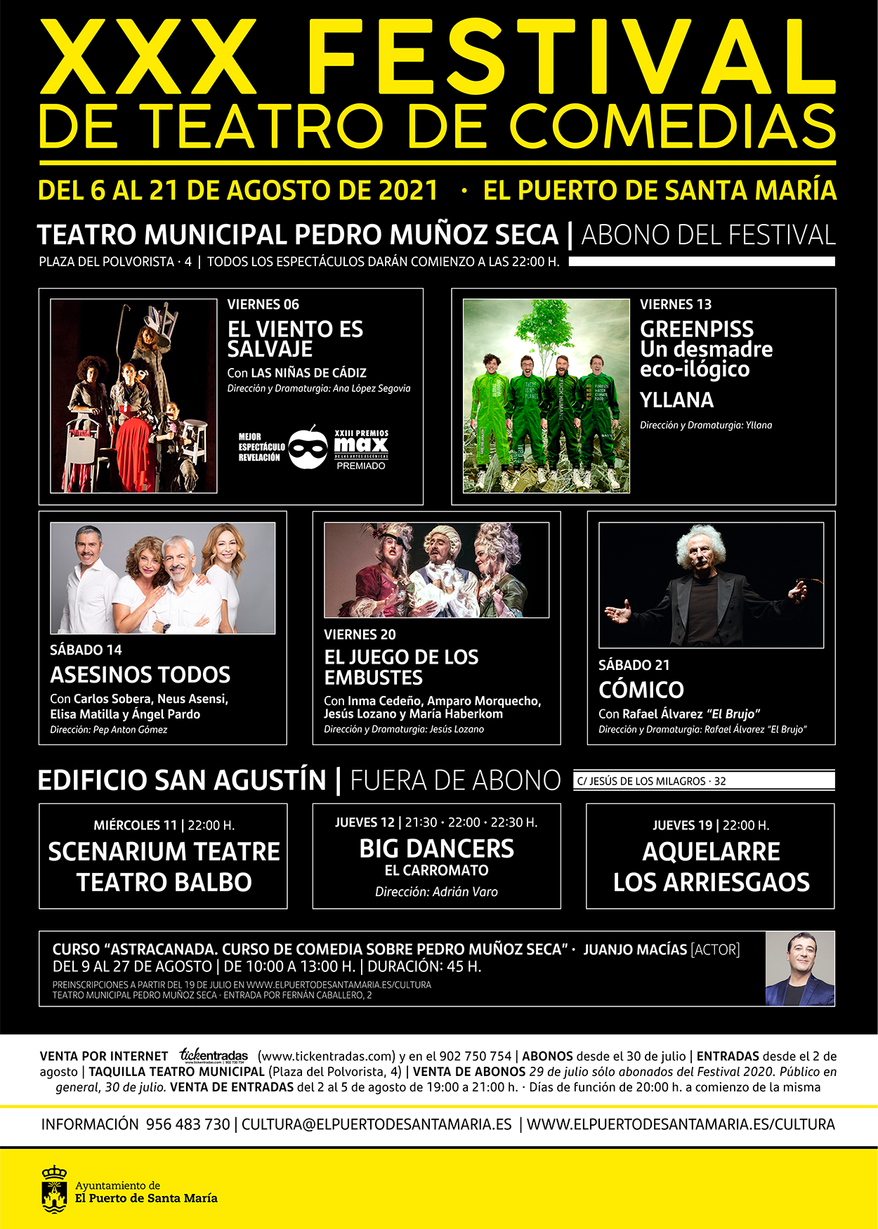 XXX Festival de Teatro de Comedias 2021