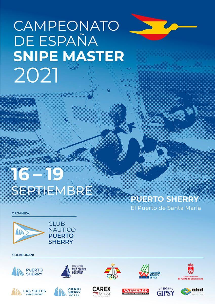 Campeonato de España de Snipe Master 2021 en Puerto Sherry