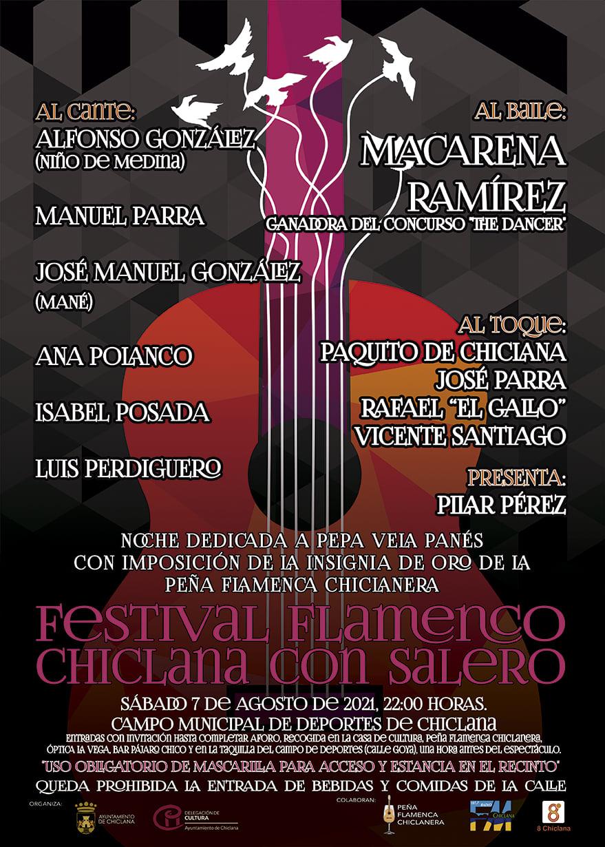 Festival Flamenco 'Chiclana con Salero' en el Campo de Deportes