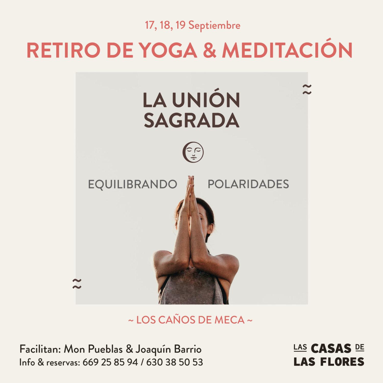 Retiro de Yoga y Meditación en Las Casas de Las Flores, Caños de Meca, Cádiz