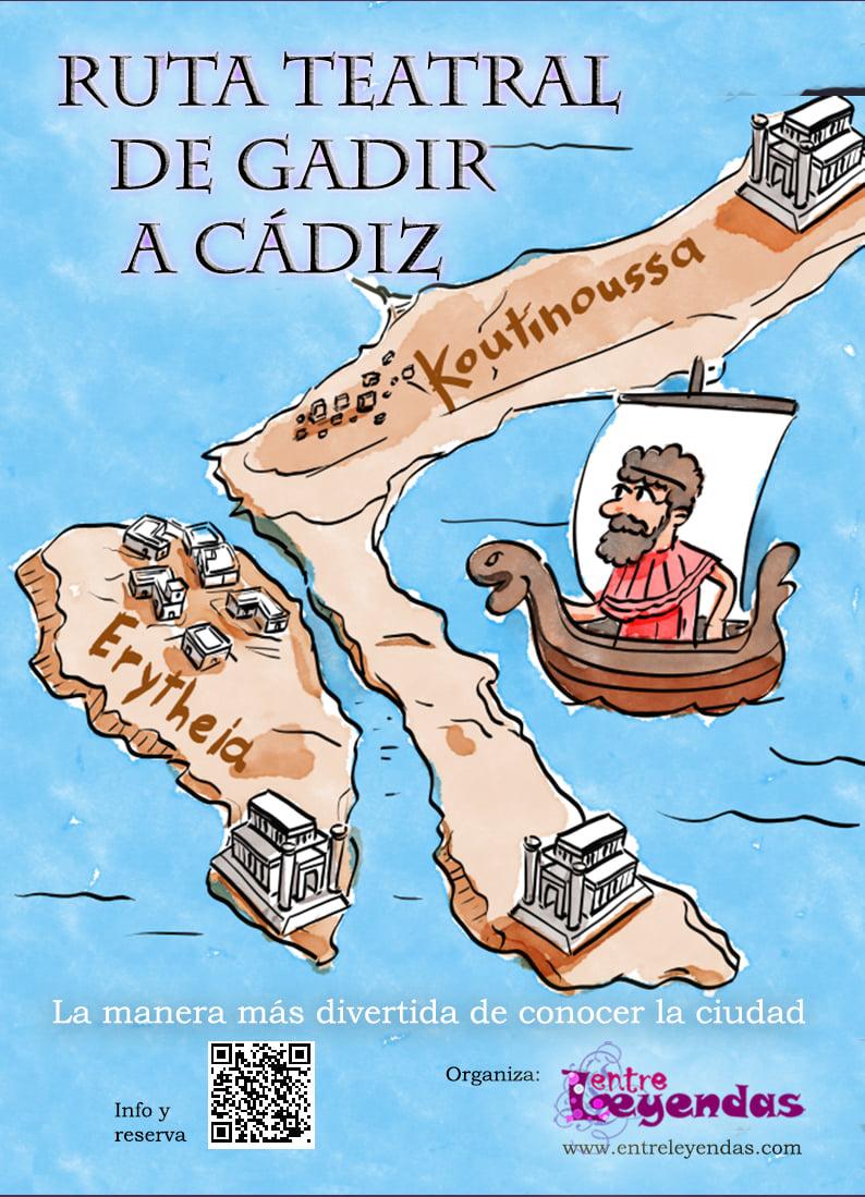 Ruta teatral de Gadir a Cádiz