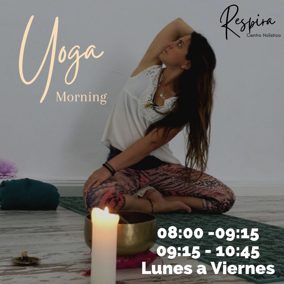 Yoga por las mañanas en Centro Respira Tarifa