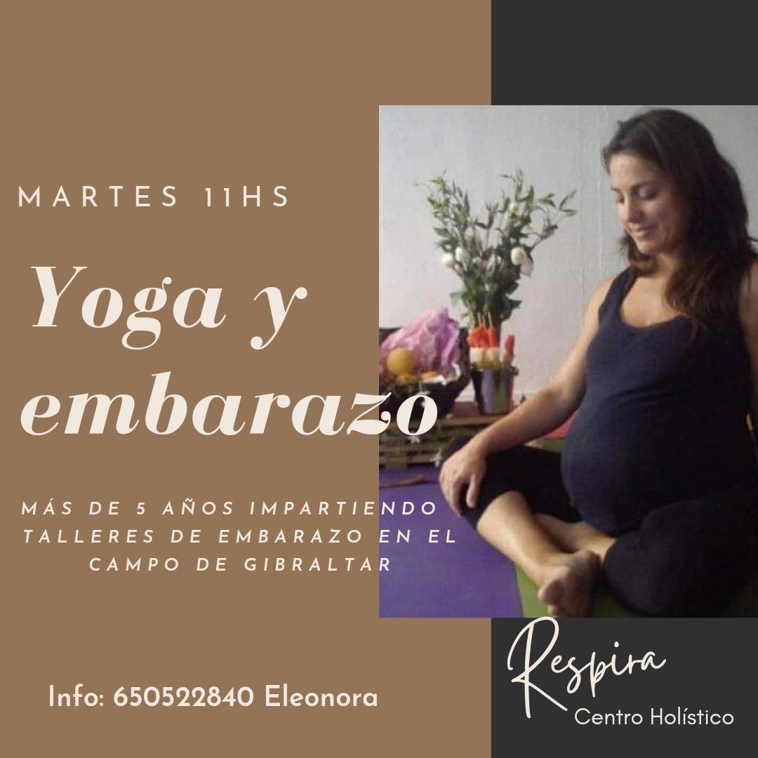 Yoga y Embarazo en Centro Respira Tarifa