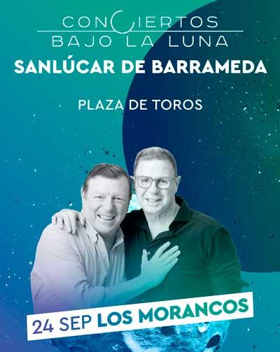 Actuación de Los Morancos - Conciertos Bajo la Luna