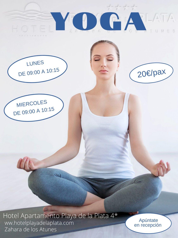 Clases de Yoga en el Hotel Playa de la Plata