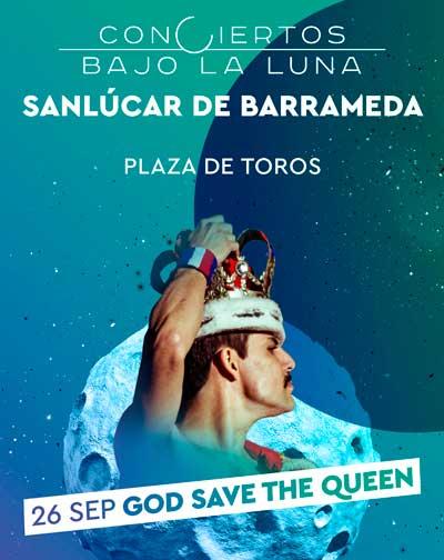 Concierto God Save The Queen - Conciertos Bajo La Luna