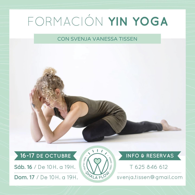 Formación de Yin Yoga en Shala Flow, Chiclana