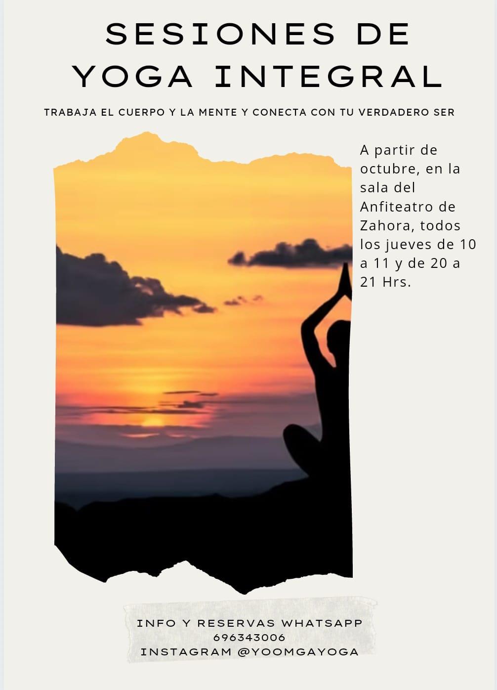 Yoga Integral en Salita del Anfi Teatro Zahora