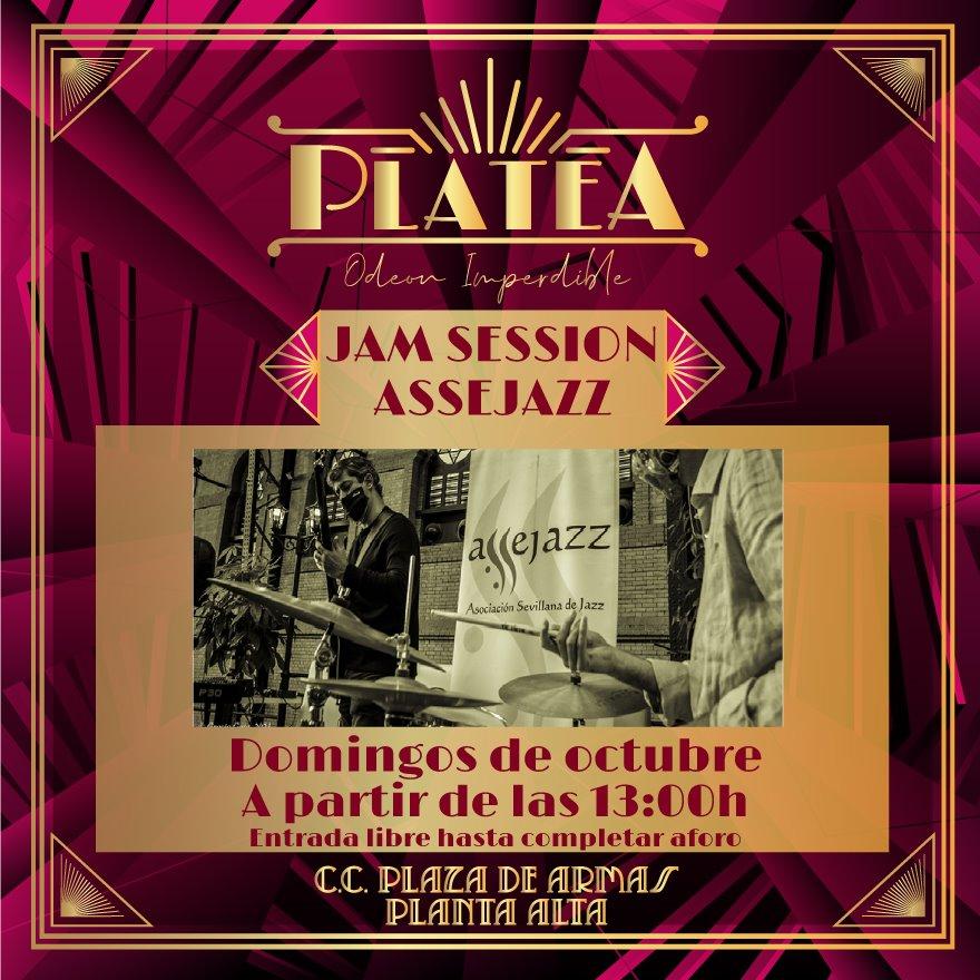 Jazz Jam Session Assejazz en Platea Odeon