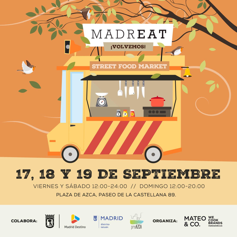 MadrEAT - Street Food Market en Azca