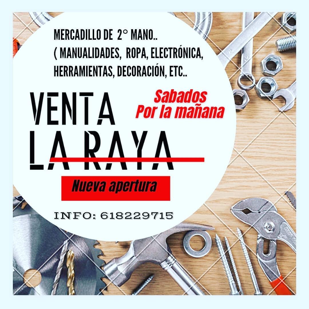 Mercadillo de Segunda Mano en Venta La Raya, Chiclana