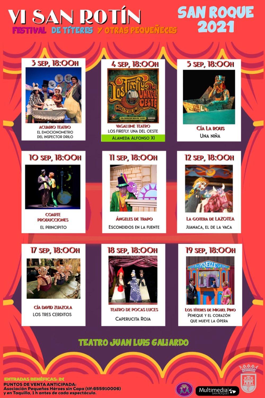 VI Festival San Rotín 2021 de Títeres y otras pequeñeces