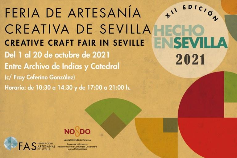 XII Feria de Artesanía Creativa 'Hecho en Sevilla'