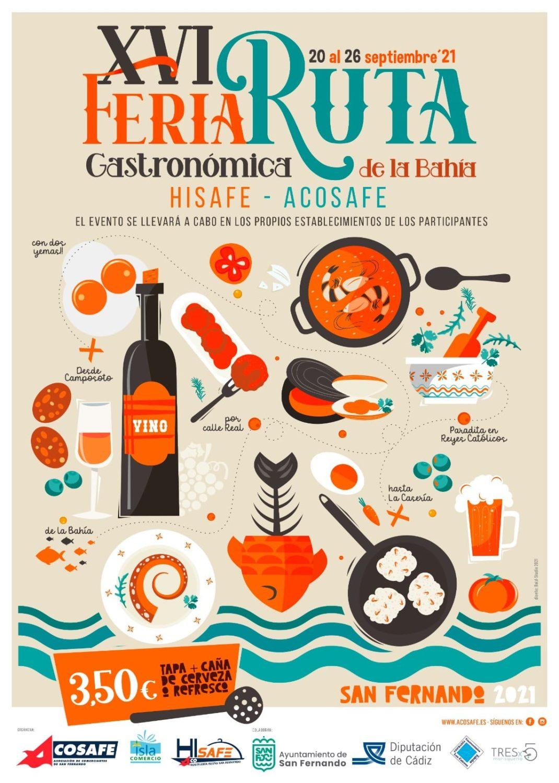 XVI Feria de la Tapa 2021 Ruta Gastronómica de la Bahía