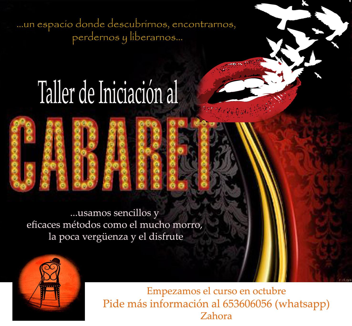 Taller de Cabaret en Salita del Anfi Teatro Zahora