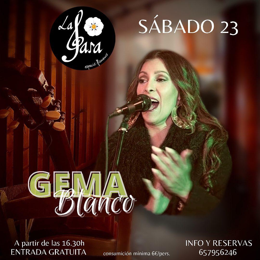 Actuación de Gema Blanco y Jesule del Puerto en La Jara El Puerto