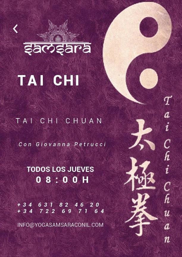 Clases de Tai Chi en Samsara Conil