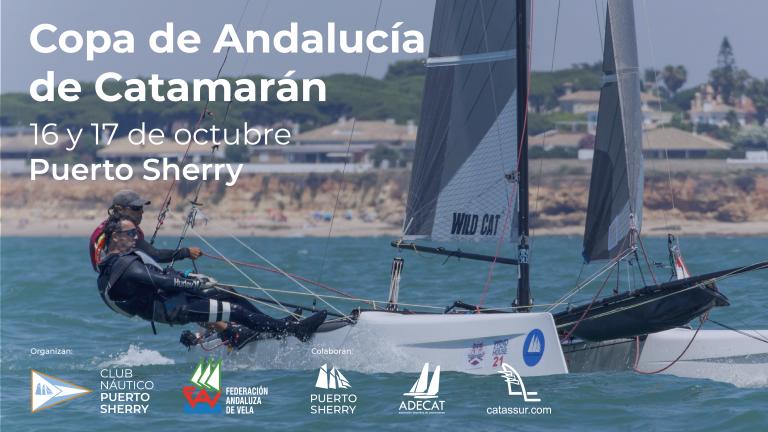 II Copa de Andalucía de la Clase Catamarán 2021 en Puerto Sherry
