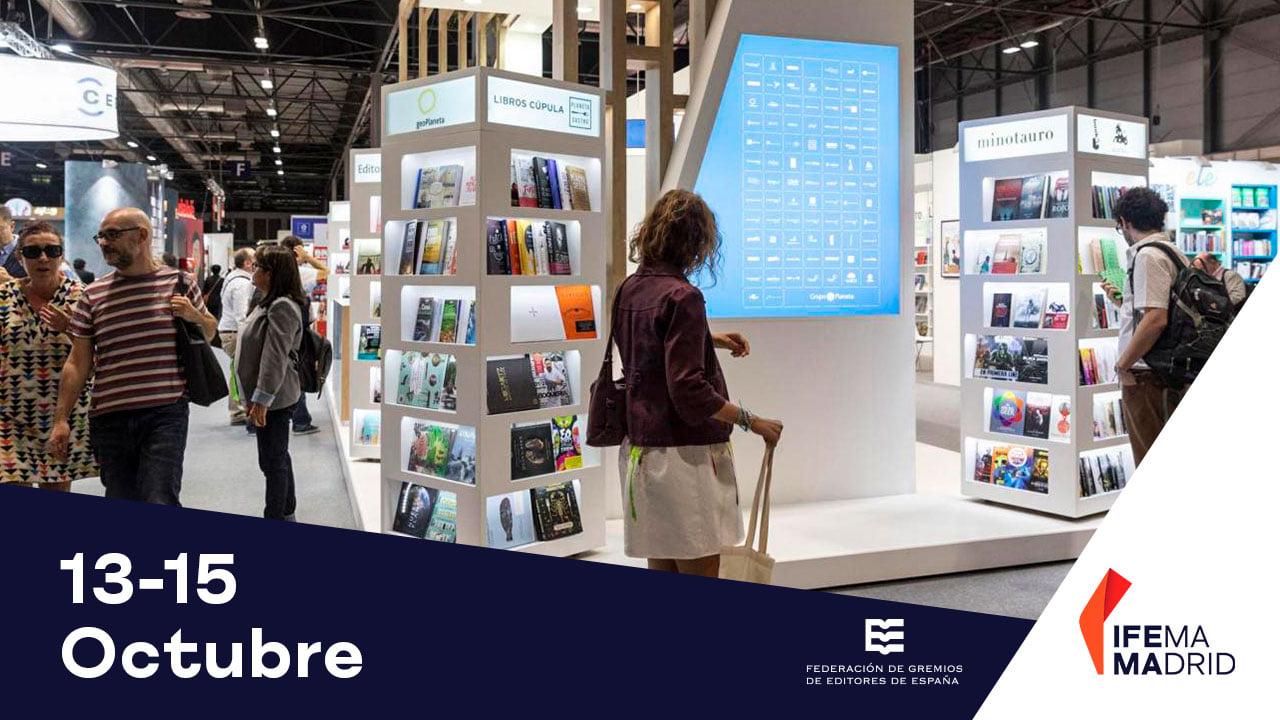 Liber 2021 - Feria Internacional del Libro en IFEMA Madrid
