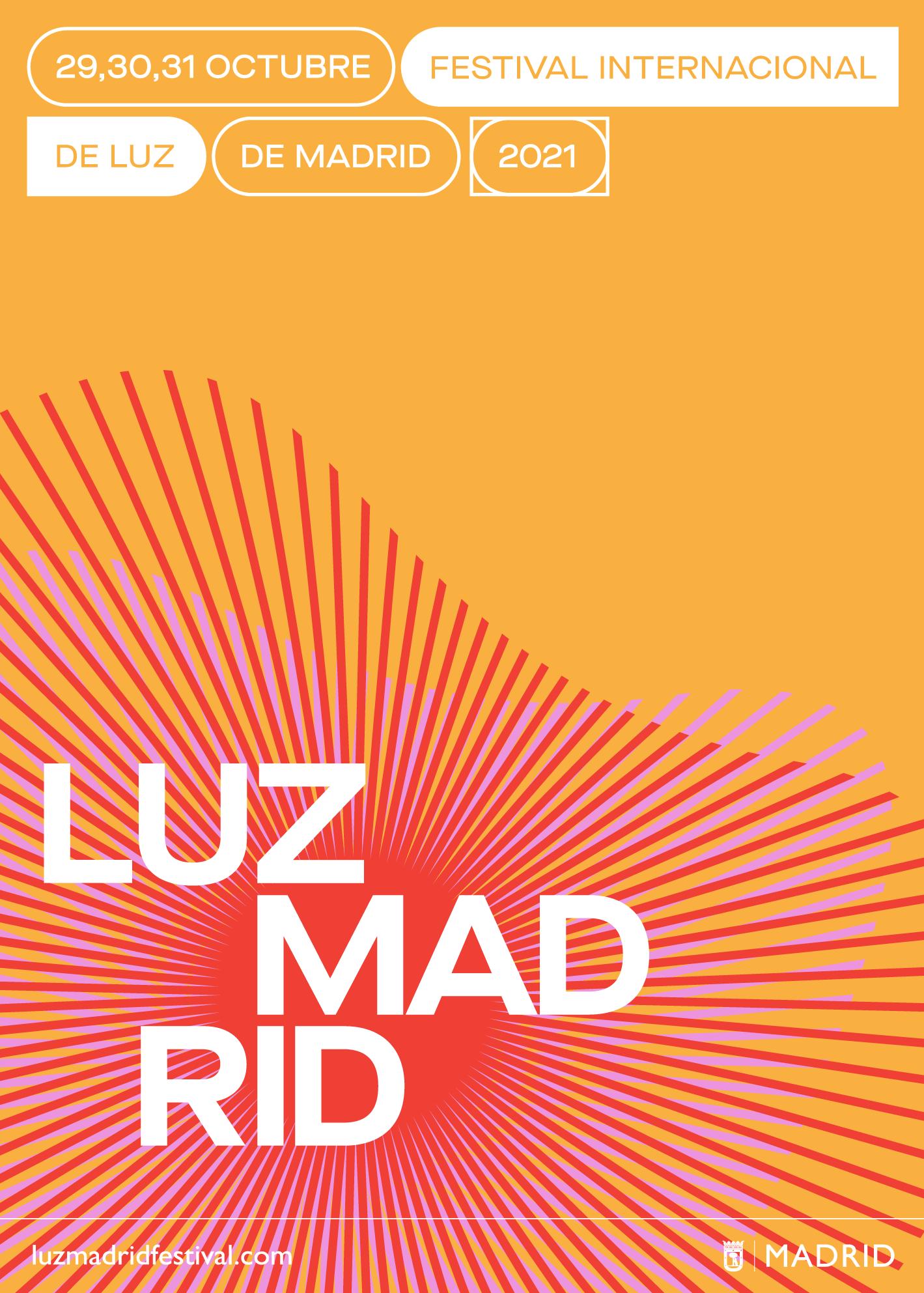 LuzMadrid 2021 - Festival de Luz de Madrid